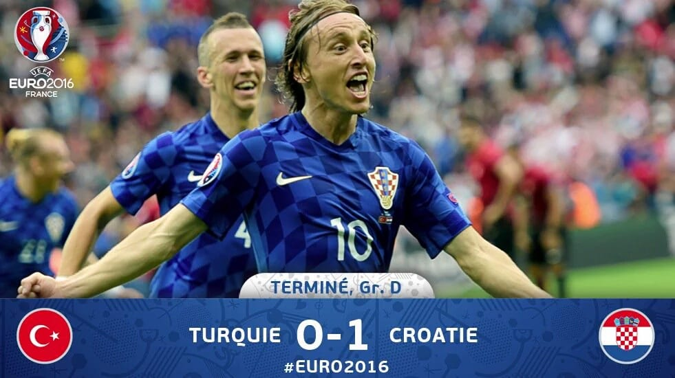 Direct euro 2016 : Turquie croatie 2 eme mi-temps groupe D